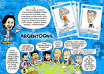 Cartas coleccionables Argentoons by luciano90lmg2