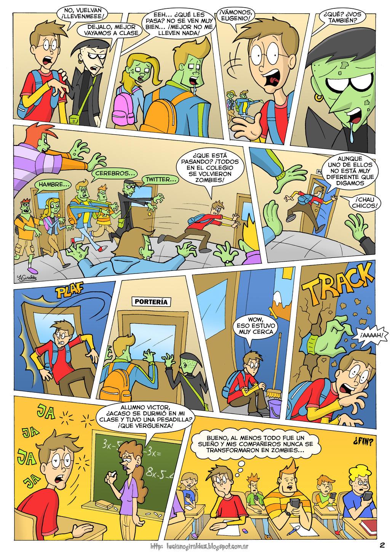Mi historieta de zombies + Tiras