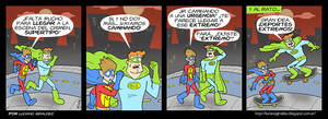 Supertipo y el Pibe Maravilla - Tira 81