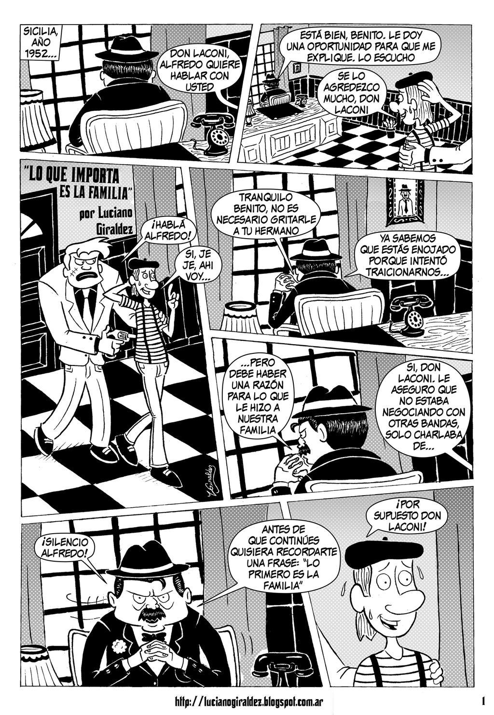 Lo que importa es la familia - Pagina 1