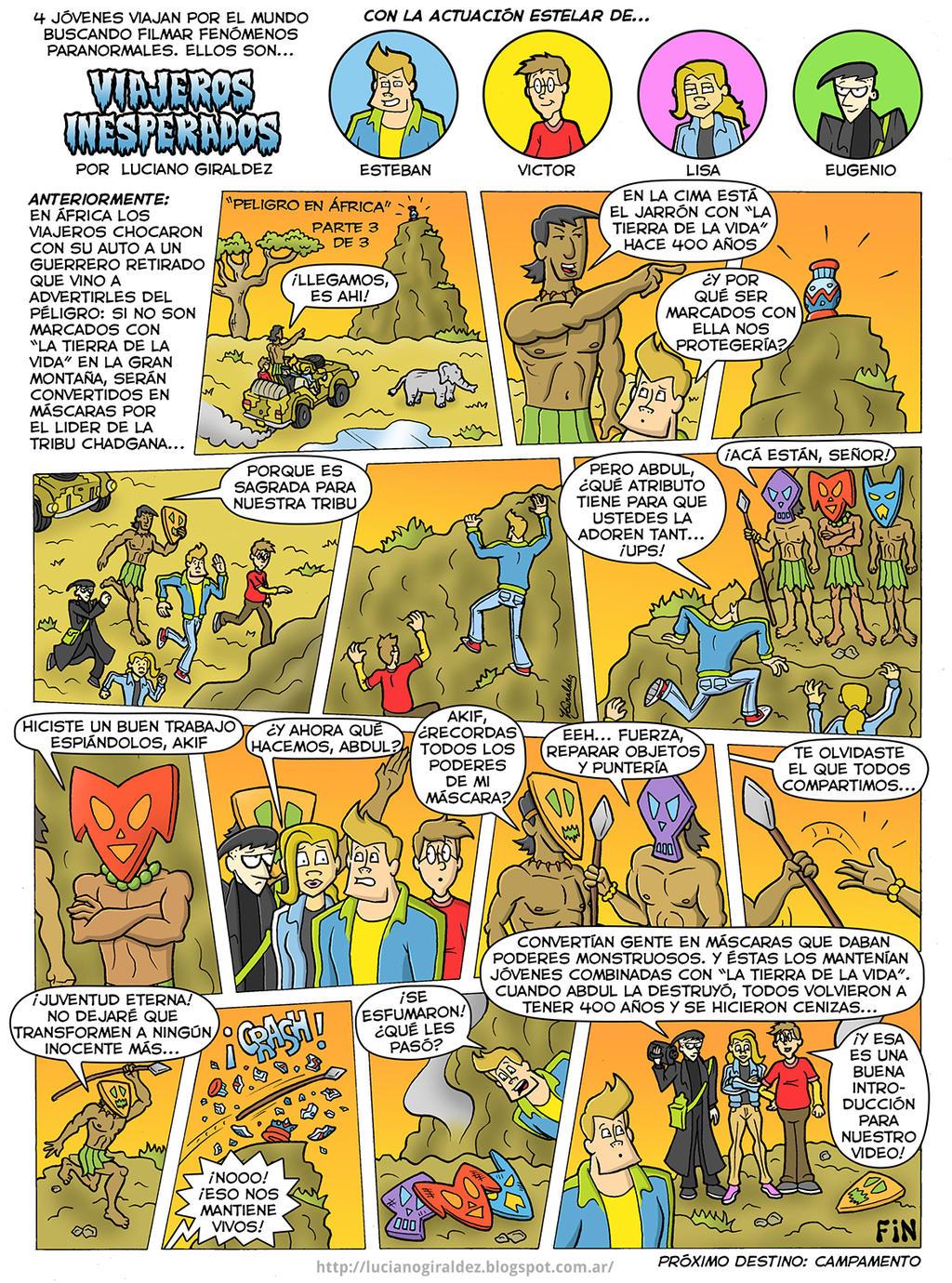 Viajeros inesperados - Peligro en Africa 3