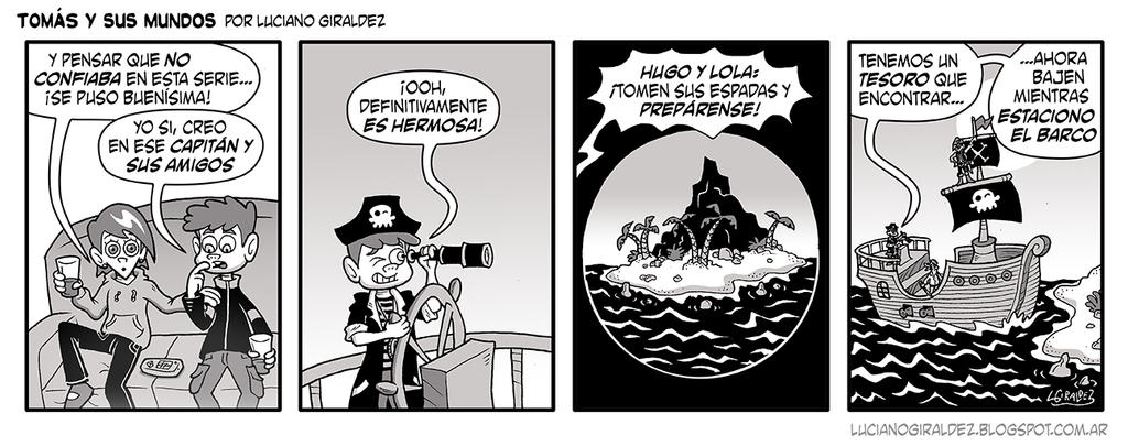 Tomas y sus mundos 2da temporada - Tira 5