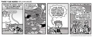 Tomas y sus mundos 2da temporada - Tira 12