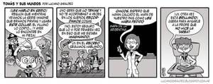 Tomas y sus mundos 2da temporada - Tira 13