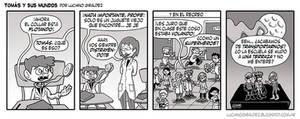 Tomas y sus mundos 2da temporada - Tira 14