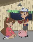 Mabel and Dipper