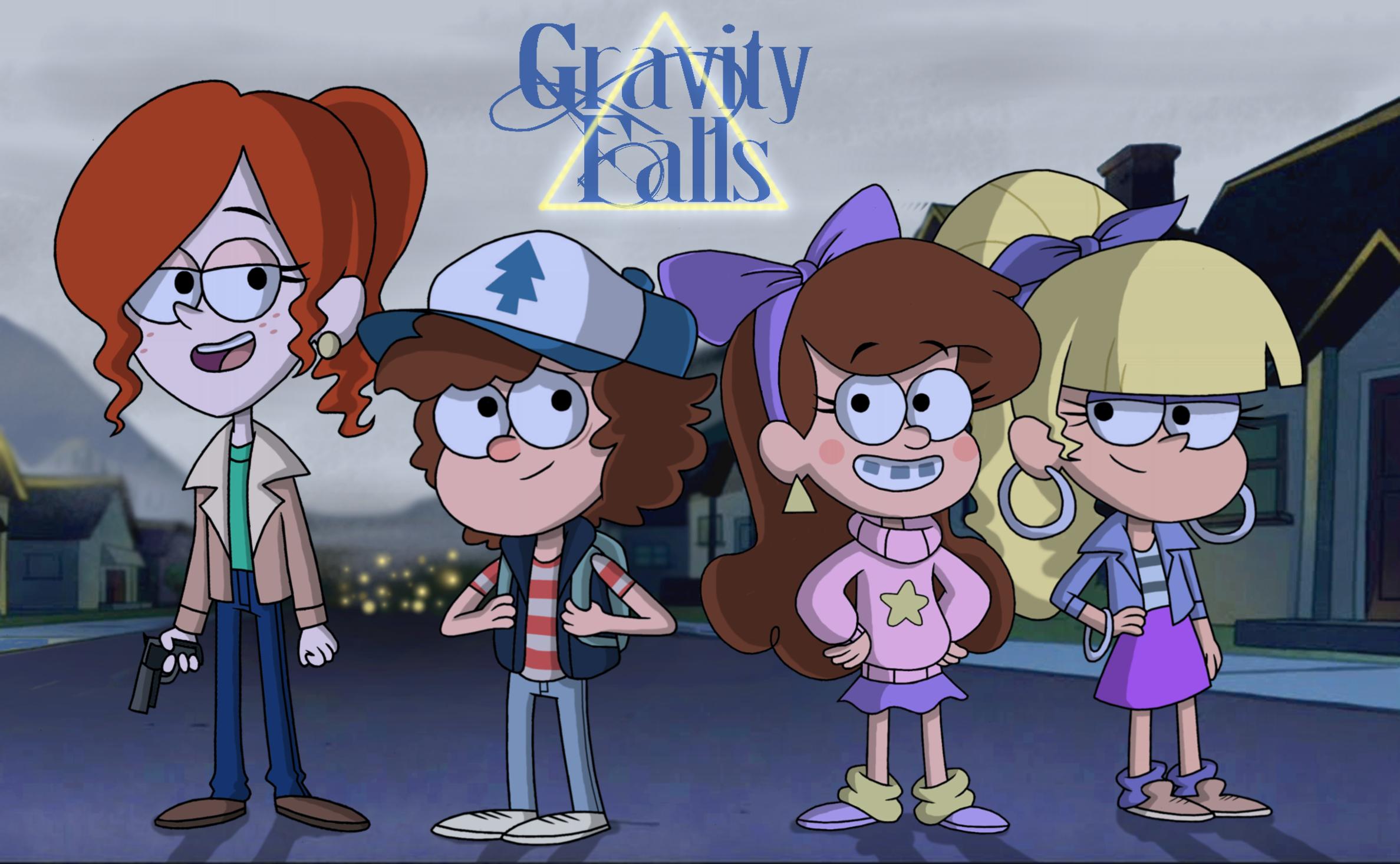 Gravity Falls 80s AU