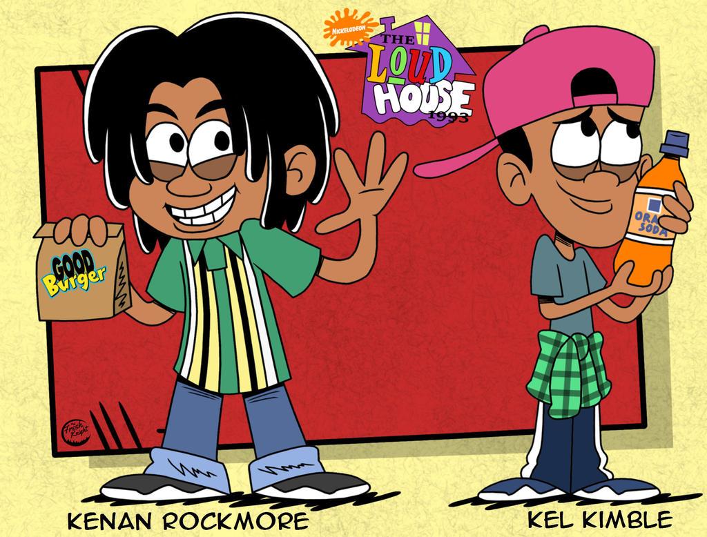The Loud House 90s AU Kenan And Kel