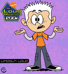 Lincoln Loud Early 2000s AU by TheFreshKnight