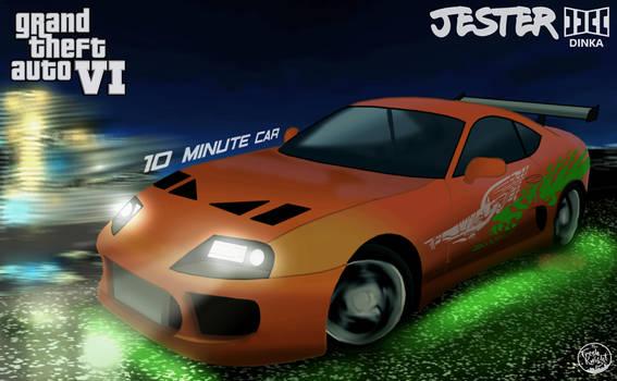 GTA 6 Toyota Supra