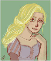 Rapunzel by cobweb59