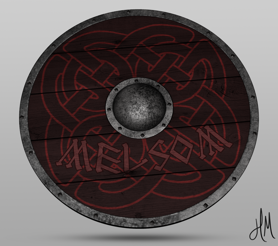 Viking Shield By Theonezealot On Deviantart