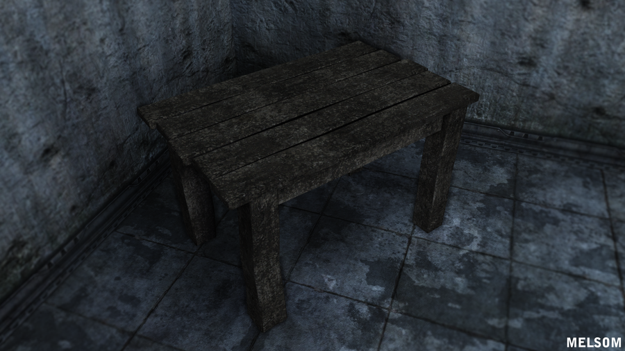 Old Table By TheOneZealot ...