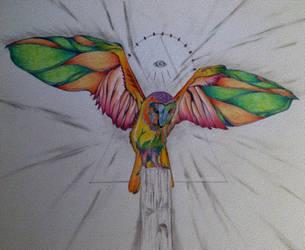 Owl WIP~ by unspoken411