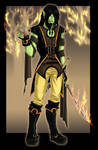 Loisha - Half-Orc Rogue