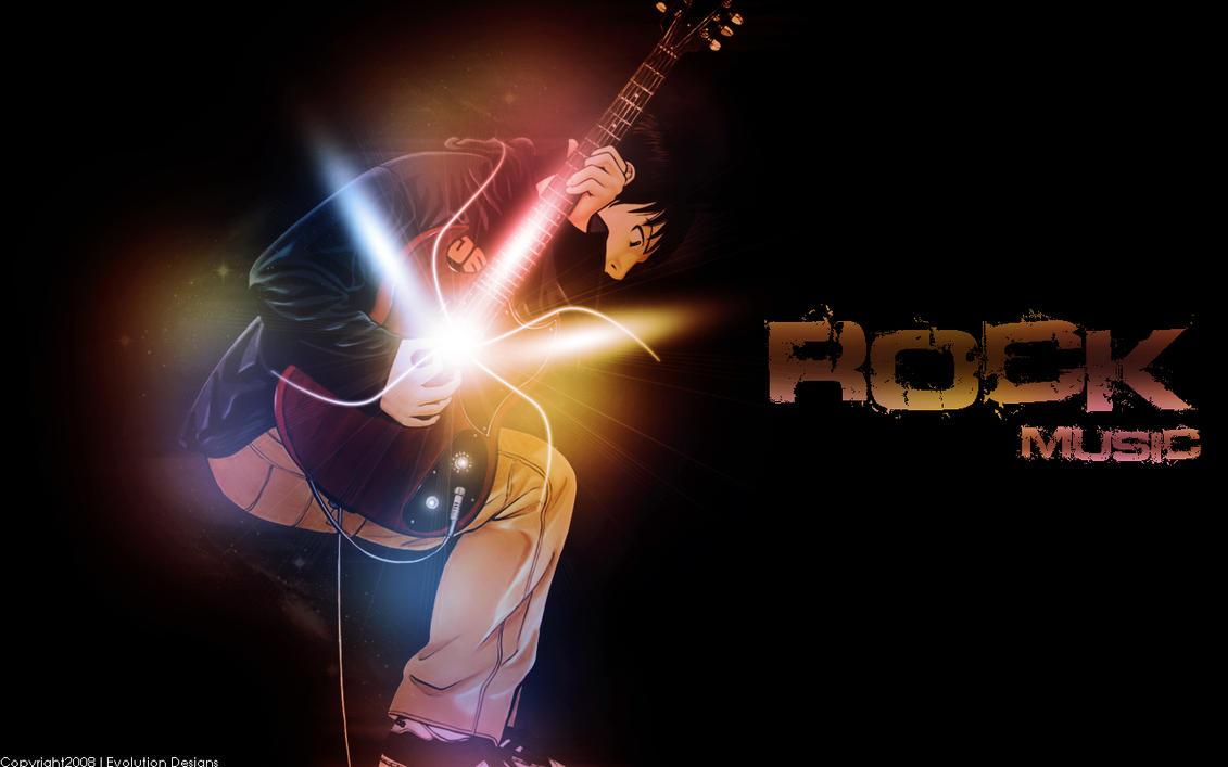 Rock Music Wallpaper: Rock Music Wallpaper By Evolutiondesignz On DeviantART
