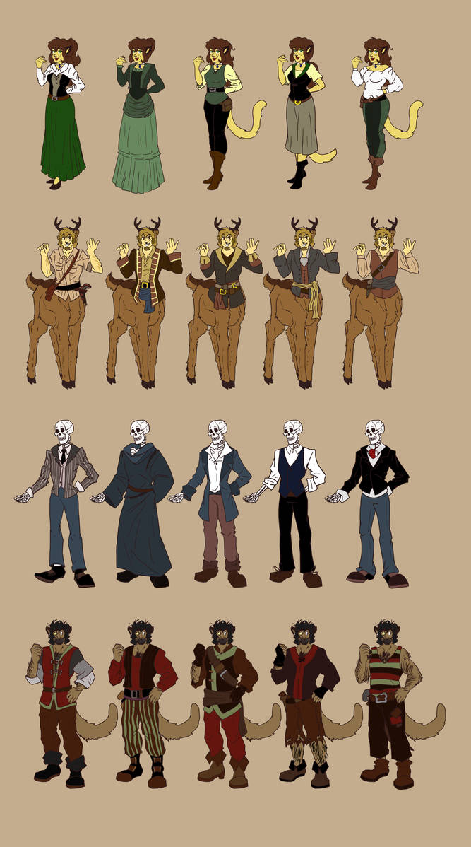ToM: NEW outfits for book 3 DUMP