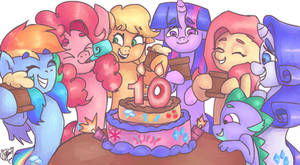 10 Years of Friendship is Magic!