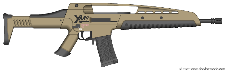 The m8a1 (called xm8 in early footage and game files) is a four-round burst assault rifle featured in call of duty