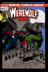 Werewolf By Night #15 cover recreation