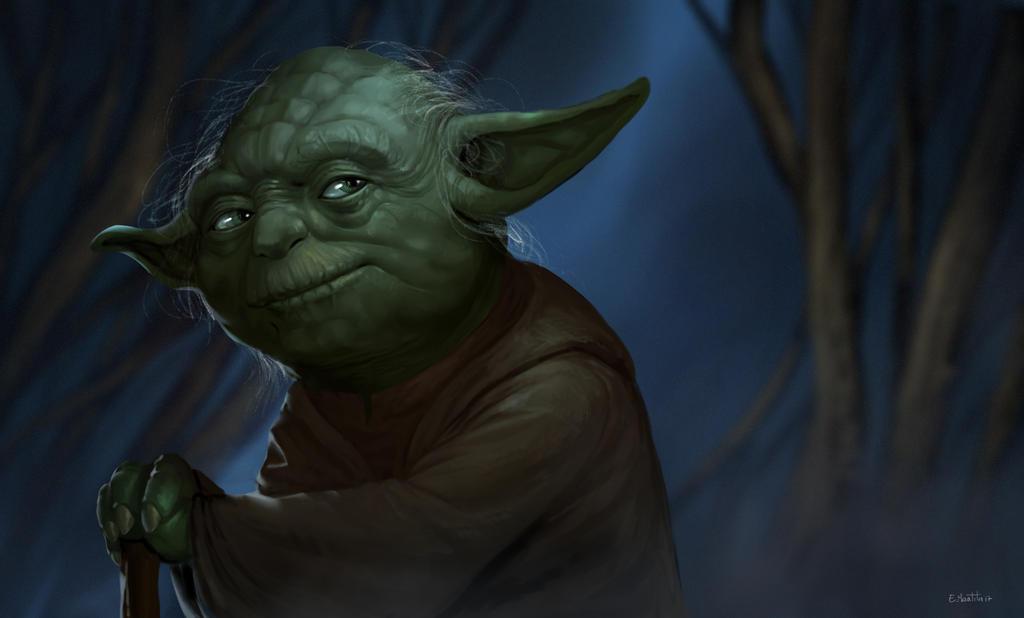 Jedi Master Yoda by N8watcher