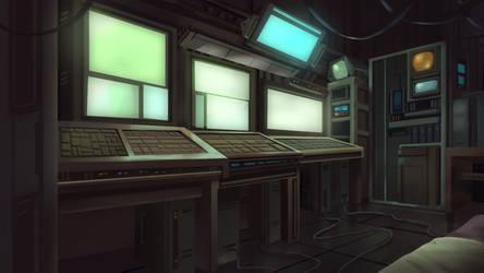 Raider Hideout - Cardinal Cross Visual Novel BG