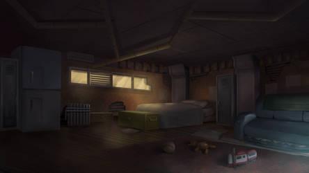 Raider House - Cardinal Cross Visual Novel BG