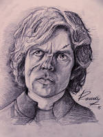 Tyrion Lannister Portrait by Kriscorpion