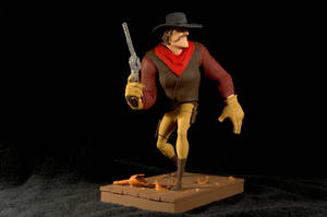 The Gunfighter-painted02 by clarkartist