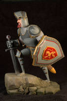 The Knight 01 Painted by clarkartist