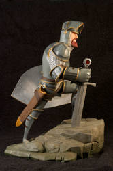 The Knight 06 Painted by clarkartist