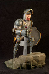 The Knight 07 Painted by clarkartist