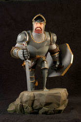 The Knight 08 Painted by clarkartist
