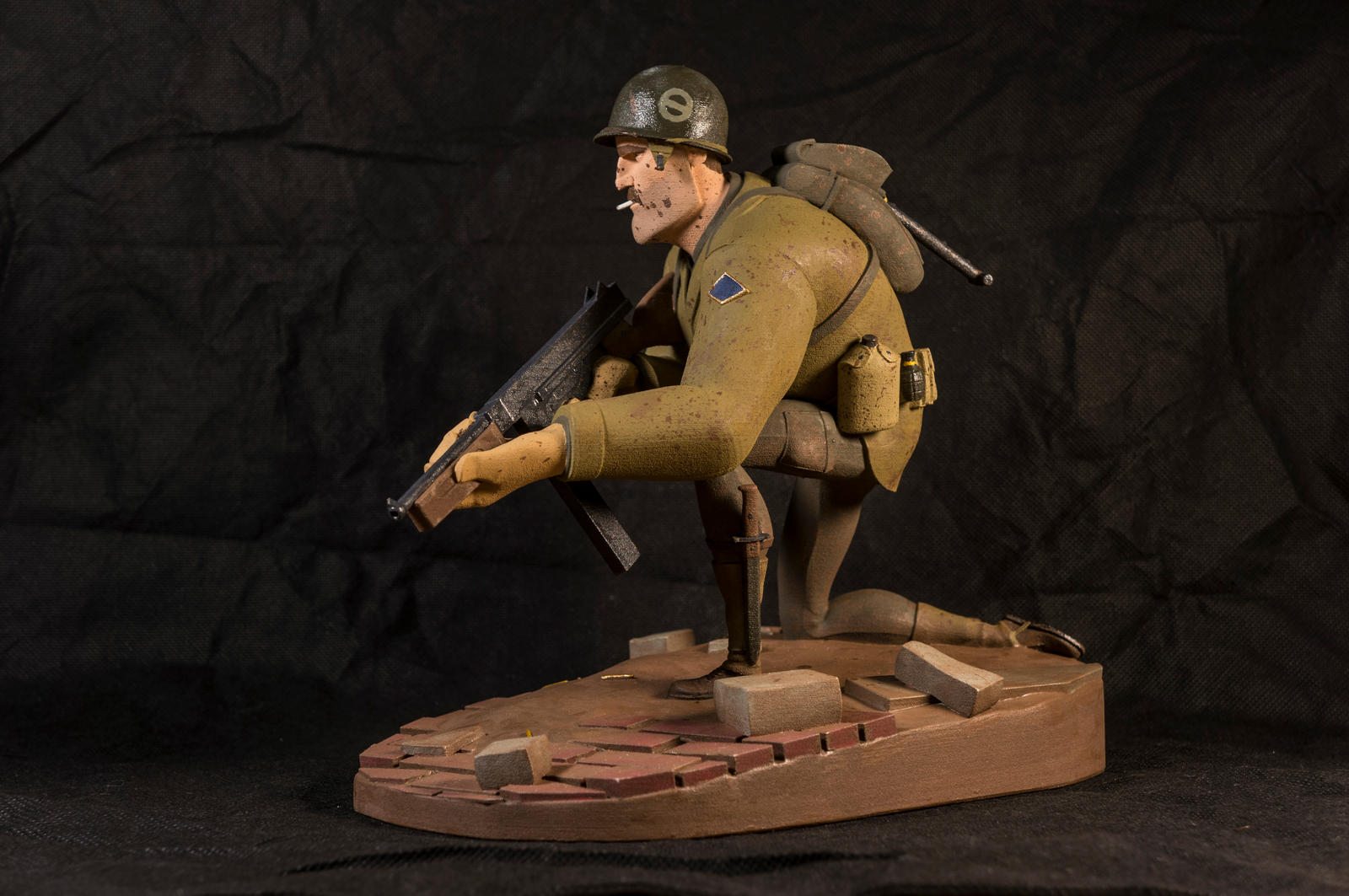 The Soldier 06 (painted) by clarkartist