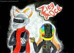 Daft Punk cosplay by brainbow97