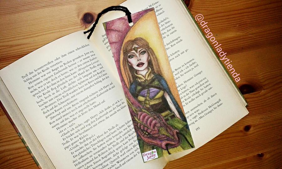 Fantasy Bookmark by carla-ng