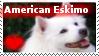 American Eskimo Stamp by sodapoq