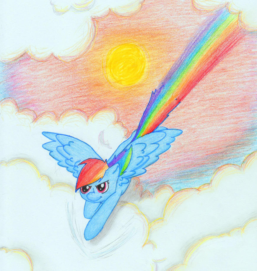 18. Rainbow by D4wn-Flow3r