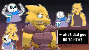 Underswap - What did you do to him?