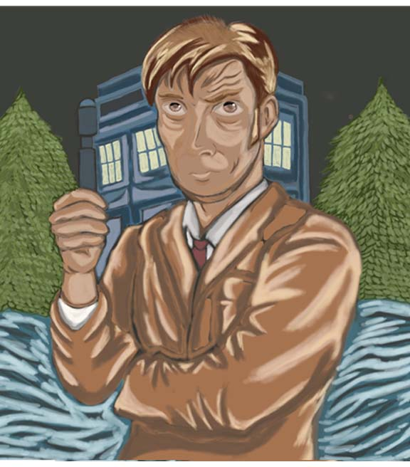 Doctor 10 David Tennant(Final) by JasonJo
