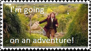I'm going on an adventure! (stamp)