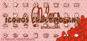 Iconos Chocomolang