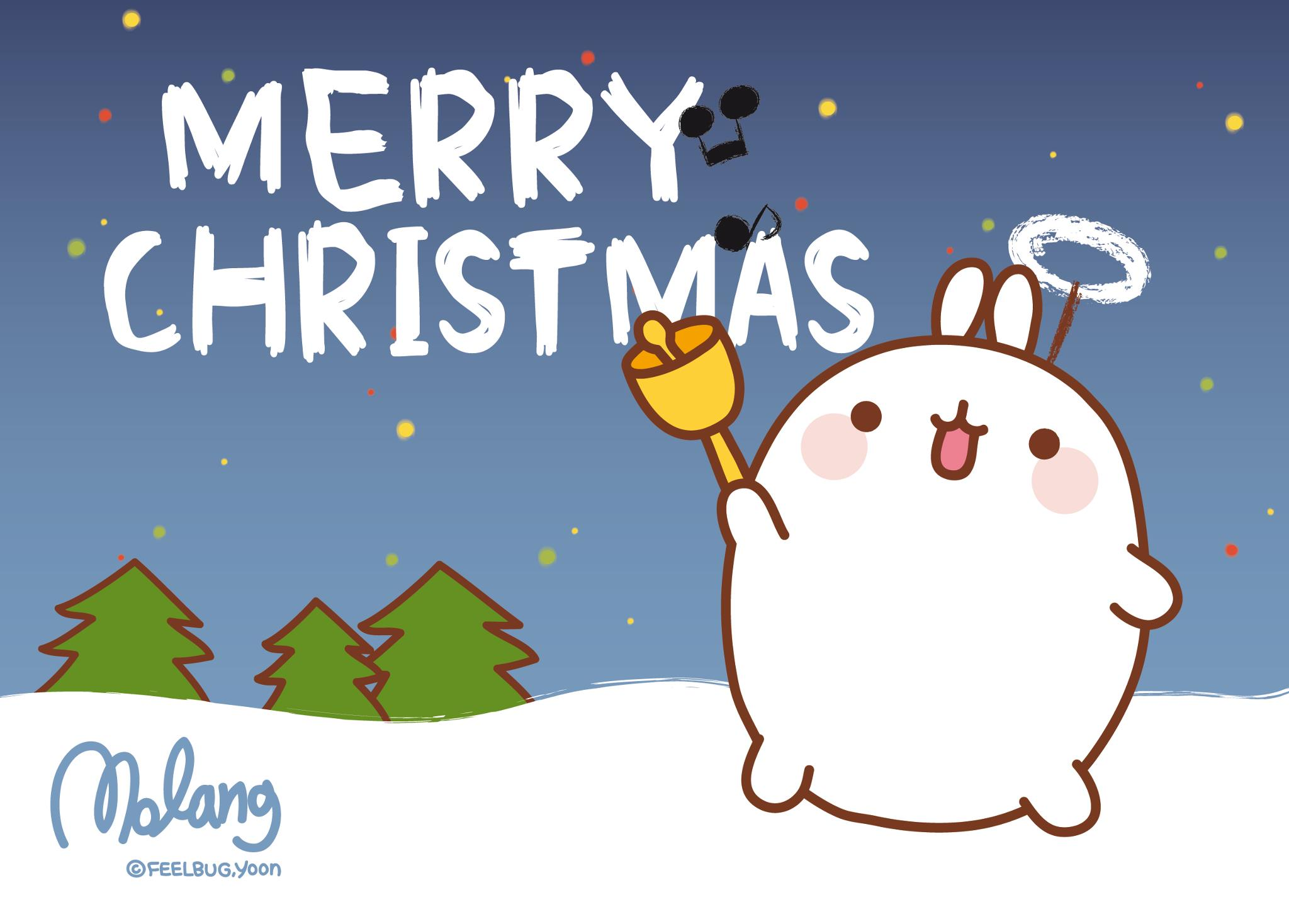 Merry Christmas Molang by leyfzalley on DeviantArt