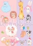 Iconos Kawaii Pets