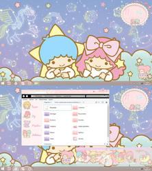 Desktop Windows 8.1 Little Twin Stars by leyfzalley