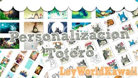 Personalizacion Totoro by leyfzalley