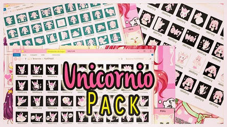 Unicornio pack by leyfzalley