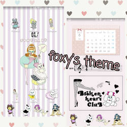 foxys theme by leyfzalley