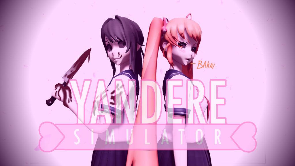 MMD- Yandere Simulator Wallpaper by