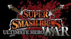 Super Smash Bros. Ultimate Hero War Logo by Crisostomo-Ibarra